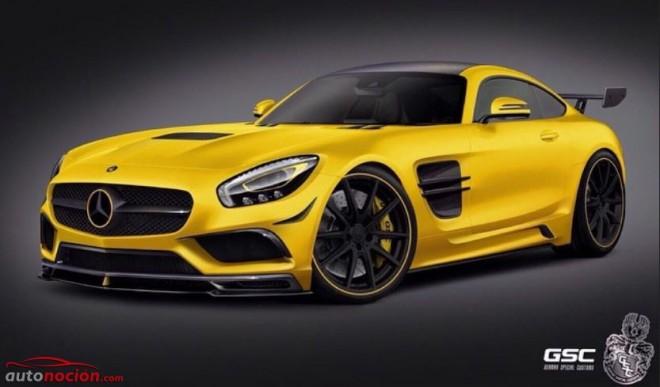 German Special Customs ofrecerá un kit de carrocería radical para el AMG GT
