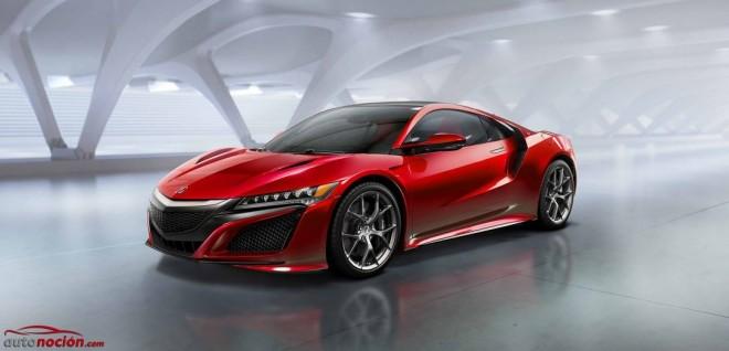 El Honda NSX cada vez más cerca: Nuevos detalles del deportivo