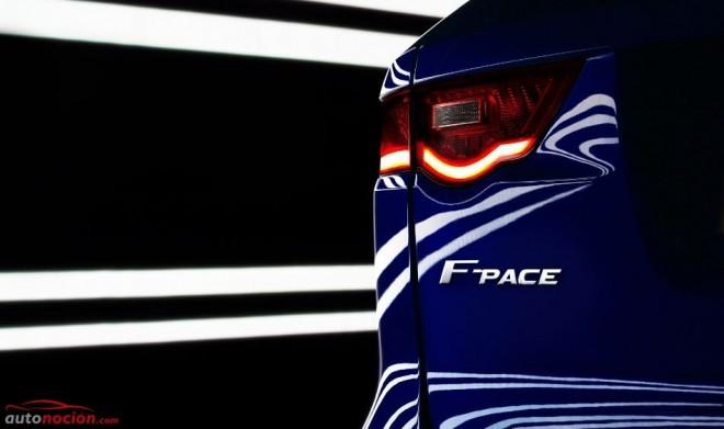 Ya es oficial, el crossover deportivo de Jaguar se llamará F-PACE