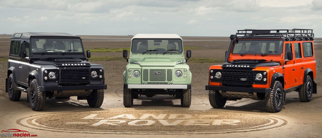 Land Rover Defender Despedida