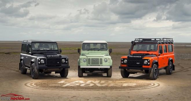El adiós al Land Rover Defender: Tres ediciones especiales para la despedida
