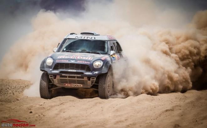 MINI celebra su cuarta victoria consecutiva en el Rally Dakar