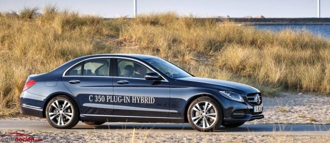 Mercedes-Benz Clase C 350 Plug-In Hybrid: La berlina híbrida enchufable con estrella