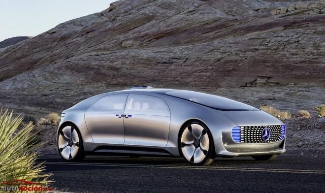 Mercedes-Benz F 015: El futuro del lujo y la conducción autónoma según Mercedes