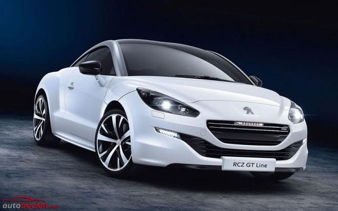 Peugeot RCZ GT Line: La misma estética que el RCZ R pero con diferente corazón