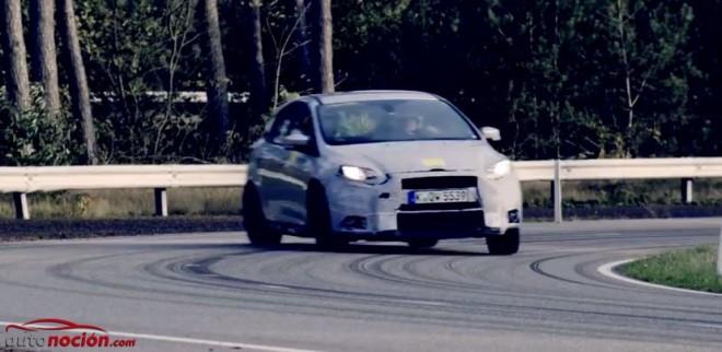 Ford nos muestra la mula de pruebas del Focus RS en acción
