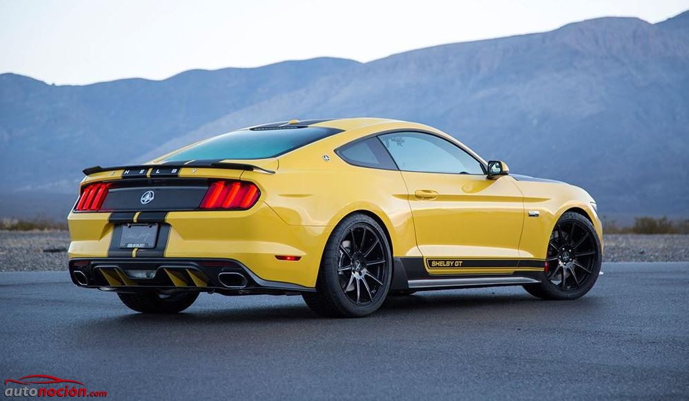 Shelby GT 2015 amarillo