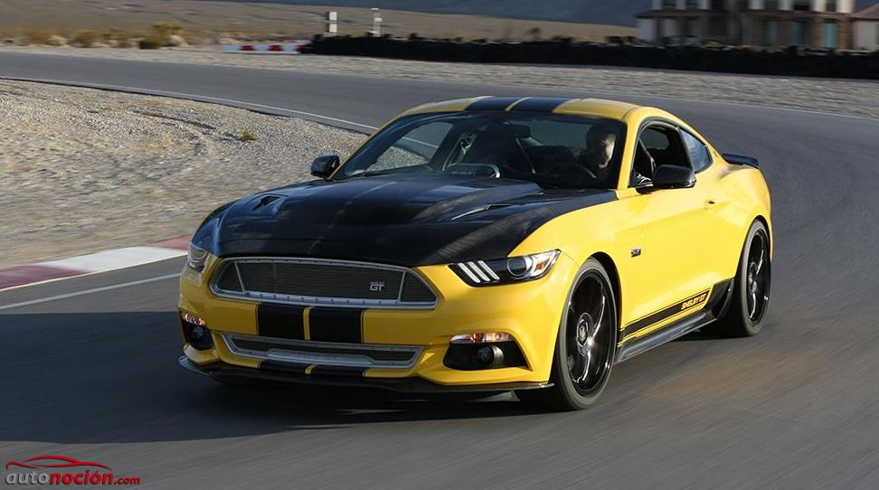 Shelby GT amarillo