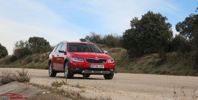 Prueba Škoda Scout 2.0 TDI 150 cv: El rey de los correcaminos