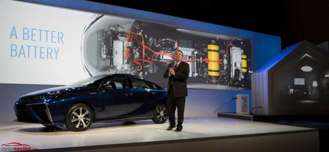 Toyota quiere un futuro con pila de hidrógeno para todos: Miles de patentes presentadas