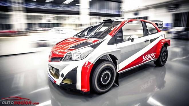Toyota vuelve al WRC: El Yaris WRC de Toyota Motorsport GmbH debutará en 2017
