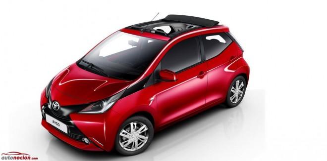 """El Toyota Aygo, ahora con techo de lona retráctil como sus """"primos"""" franceses, el C1 y el 108"""