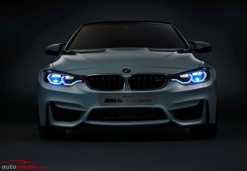 bmw m4 laser lights