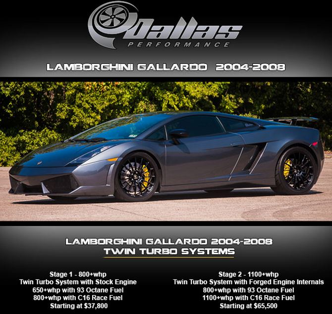 dallas performance lamborghini gallardo