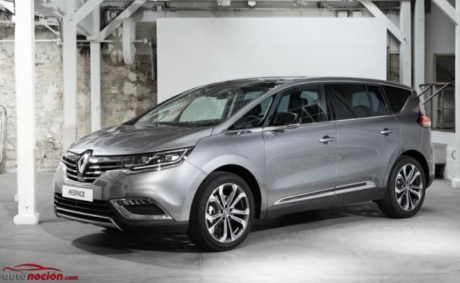 Nuevo Renault Espace: Gran espacio y equipamiento desde 30.950 euros