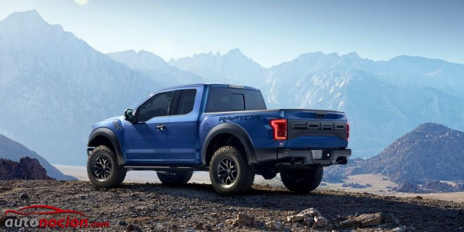 ford raptor azul