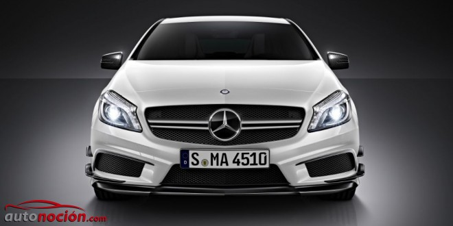 frontal A45 AMG