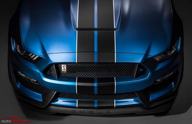 Ford Mustang SHELBY GT350R: El V8 de 5.2 litros más salvaje que Ford ha fabricado en su historia