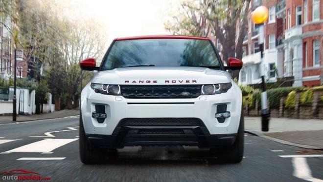 Land Rover Evoque British Edition: 1000 unidades de la última edición Inspired by Britain