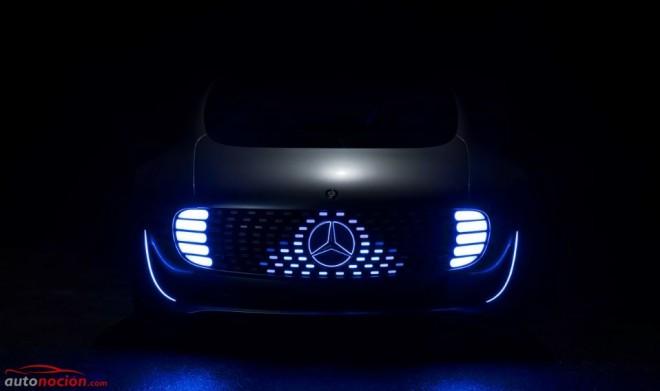 Mercedes-Benz F-CELL PLUG-IN Hybrid Drive F 015: Hasta 1.100 km de autonomía sin emisiones