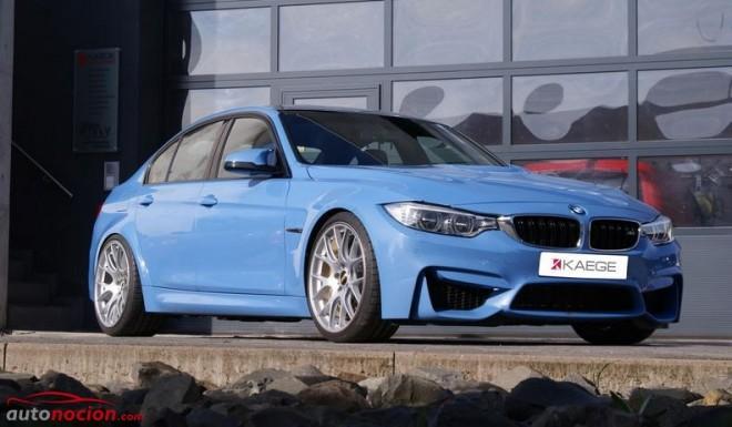 Kaege es de los primeros en meterle mano al nuevo BMW M3: Interesante paquete de mejoras