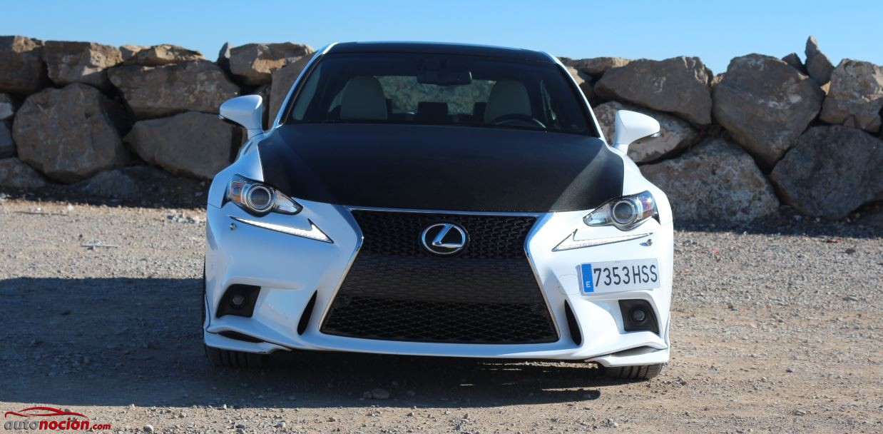 frontal lexus is