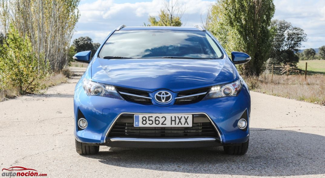 frontal toyota auris