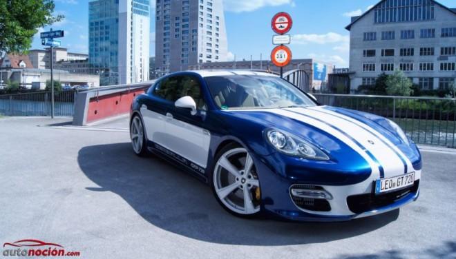 Gemballa GTP 720: El Porsche Panamera Turbo modificado es capaz de alcanzar los 340 km/h