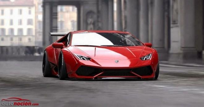 Liberty Walk nos muestra su kit de carrocería para el Lamborghini Huracán