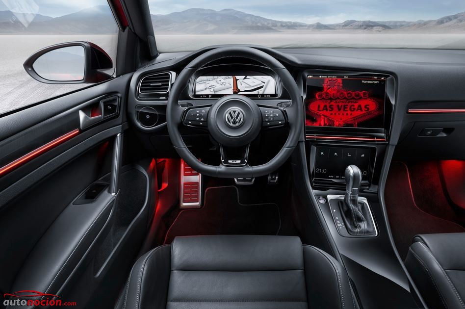 interior golf r touch 2015 vegas