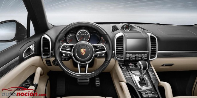 interior porsche cayenne turbo s