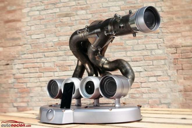 Interesante sistema de sonido: Combinar la mecánica y el audio de forma elegante