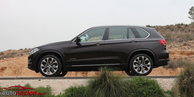 lateral bmw x5