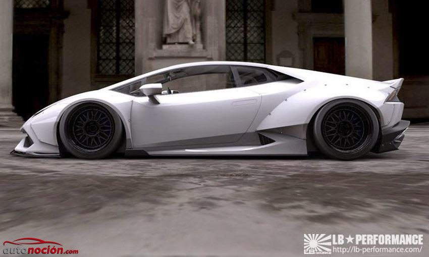 lateral huracan liberty walk