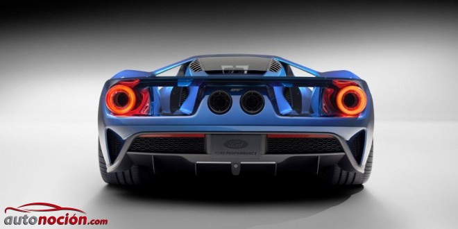 trasera ford GT 2016