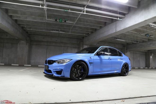 Así de impresionante luce el nuevo BMW M3 cuando 3D Design le mete mano