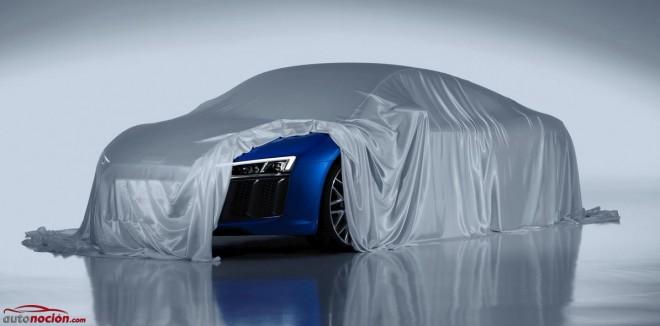Así serán los faros láser que montará el Audi R8: Cirugía estética con alta tecnología