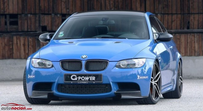 G-Power retoca el BMW M3 Coupé (E9X): 638 cv 590 Nm