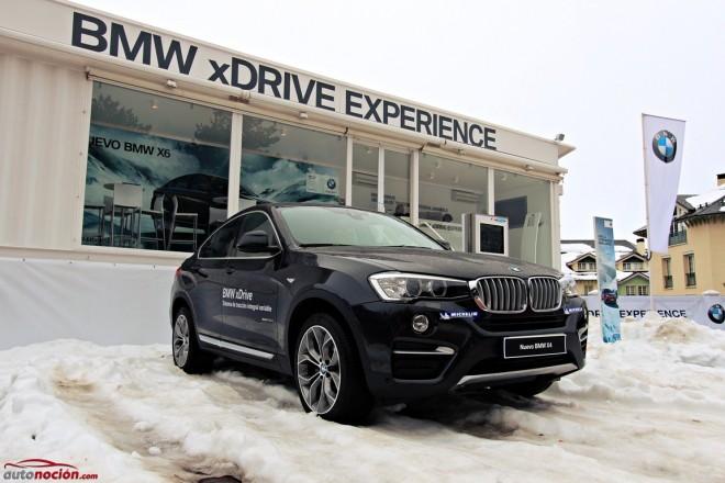 BMW xDrive Experience en Sierra Nevada, la experiencia de conducción en nieve definitiva