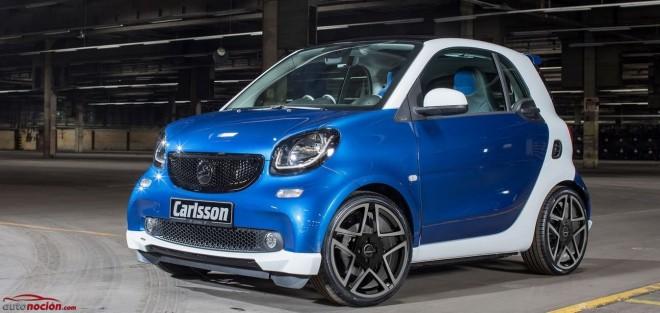 Carlsson prepara el Smart ForTwo, cambios estéticos y mecánica de serie
