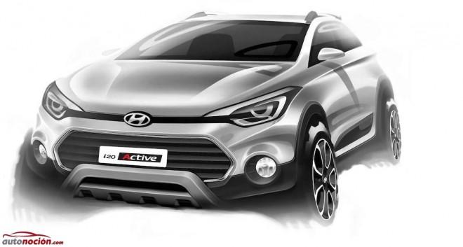 Así queda el Hyundai i20 en versión Crossover
