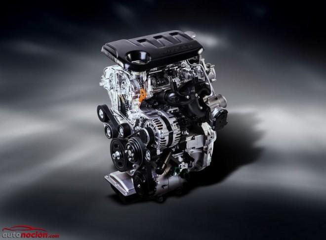 """Kia se apunta a la """"moda del litro"""": Así es el nuevo motor Kappa 1.0 T-GDI"""
