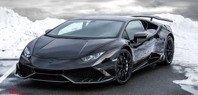 Mansory prepara al Lamborghini Huracan: 850 cv y 780 Nm de par para el deportivo italiano