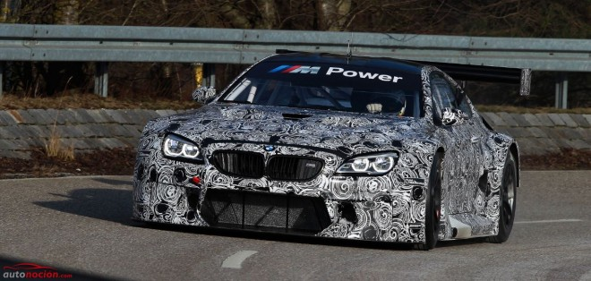 BMW M6 GT3: Llegará en 2016 con un V8 M TwinPower Turbo de 4.4 litros y más de 500 cv