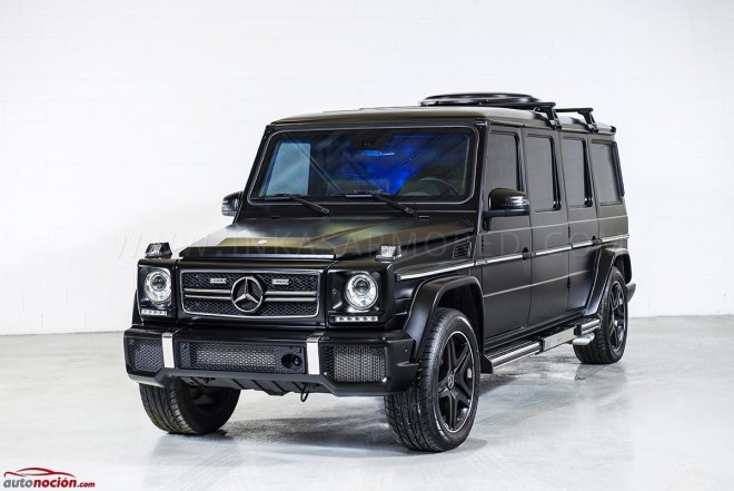 Mercedes-Benz G63 AMG por Inkas Armored, cuando tu oficina es algo similar a un búnker alemán
