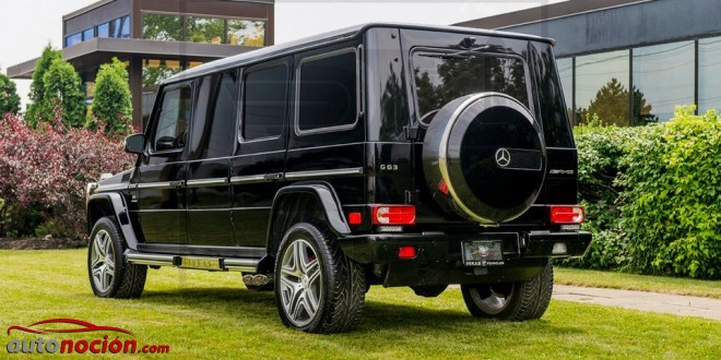 Mercedes G63 AMG Inkas Armored (7)