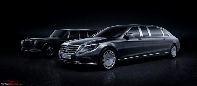 Mercedes-Maybach Pullman: 6.499 mm de lujo y un V12 biturbo de 6.0 litros para darle vida