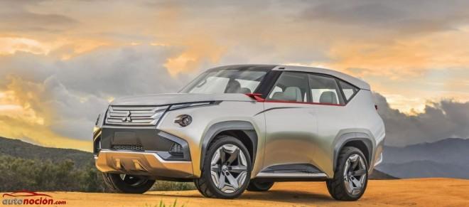 Mitsubishi Concept GC-PHEV: Mostrando el futuro más inmediato de la marca japonesa