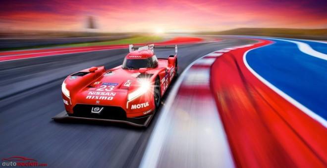 GT-R LM NISMO: Así quiere conquistar Nissan Le Mans