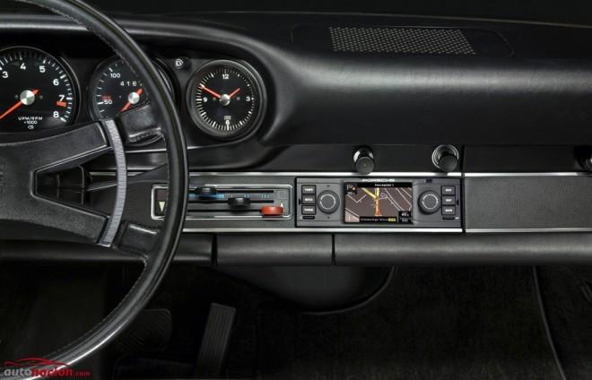 La última creación de Porsche es un navegador para sus modelos clásicos ¿Quién dijo viejo?